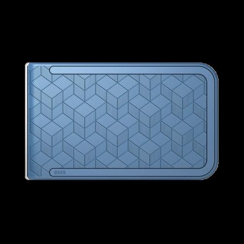 Dosh Embossed Cubic Blue