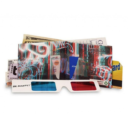 Mighty Wallet 3D Graffiti