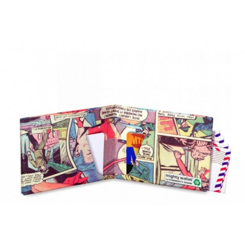 Mighty Wallet Comic Book