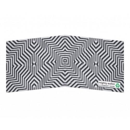 Mighty Wallet Minimal Geometric Grid