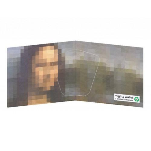 Mighty Wallet Mona & Lisa Pixels