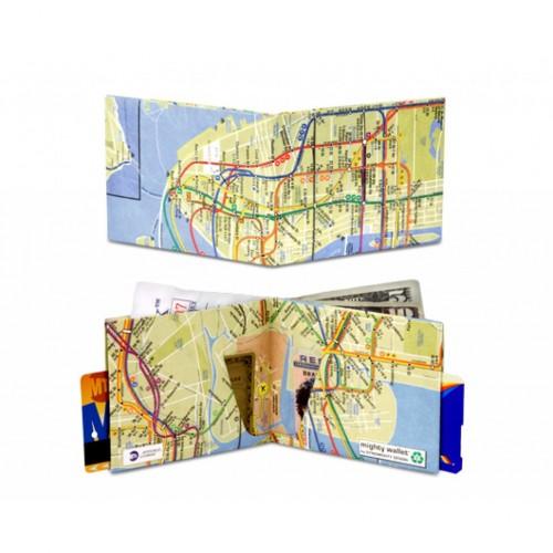 Mighty Wallet NYC Subway Map